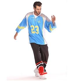 长春冰球服-青色